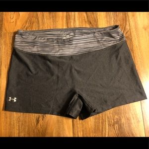 Under Armor Fitted Heat Gear Shorts